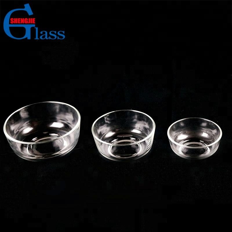 High Quality Round Clear Flat Glass Bowl Wholesale