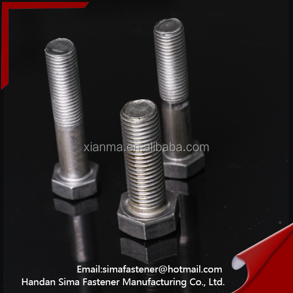 high strength astm a325 heavy hex bolt for building system
