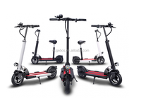 2 wheels standing up self-balance foldable bike electric