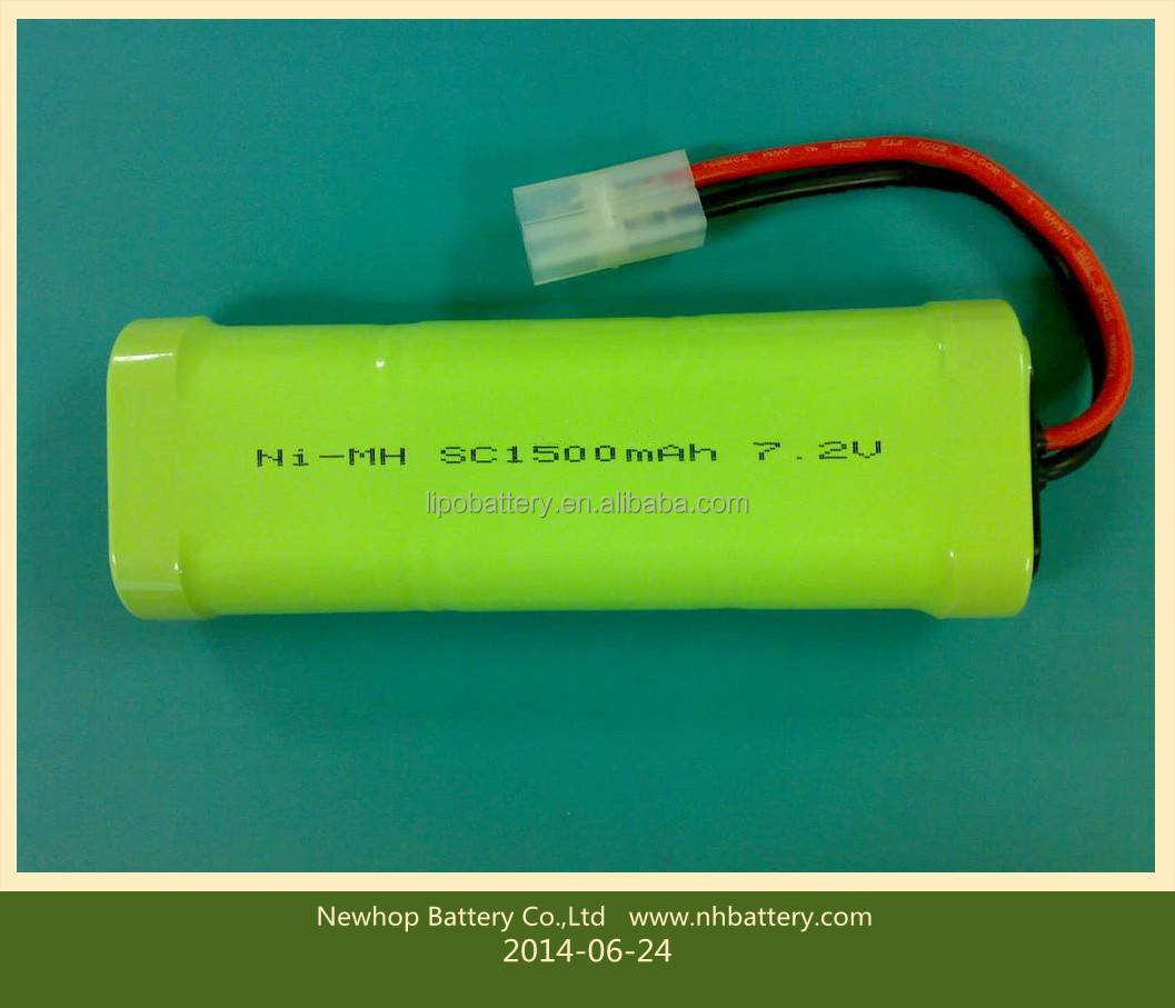 7.2v Ni Mh Sc Batterie Rechargeable Pour Lampes Solaires Buy Batterie Rechargeable 7.2v Ni Mh Sc,7.2v Ni Mh,Batterie Rechargeable 7.2v Ni mh Product