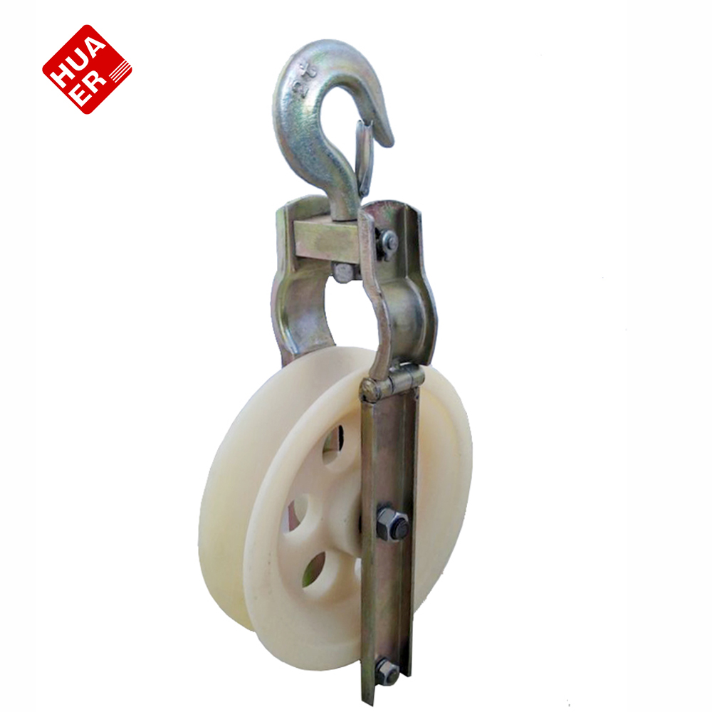 Wire Cable Pulley/conduit Feed Rollers With Nylon Wheel - Buy Wire ...
