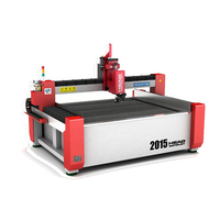 MONOBLOCK DESIGN 3d water jet small CNC cutting machine and mini waterjet cutting machine