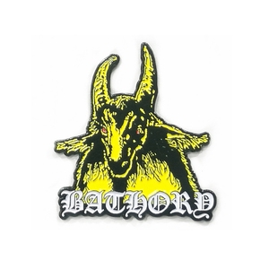 Custom Dye Black Soft Enamel Bathory Emblem Lapel Pins/badges