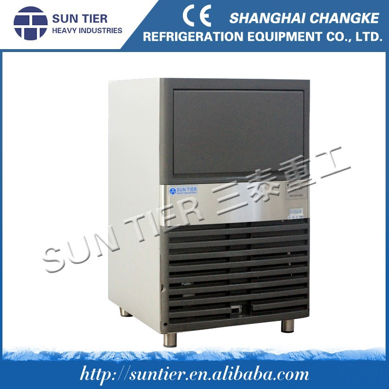 SUN TIER commercial hot sale edible flake ice making machine with ice bin
