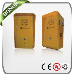 ITC T-6732 IP Network IP55 Protection Rate Low Delay Full Duplex Industrial Intercom