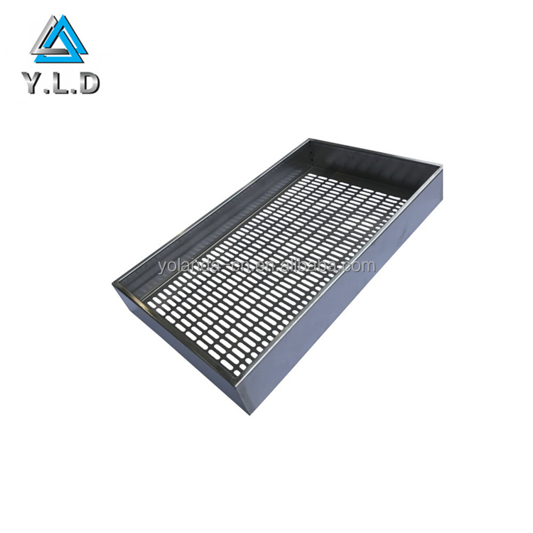 Rapid Manufacturing OEM ODM Custom Stamping Stainless Steel Cooling Cover Plate