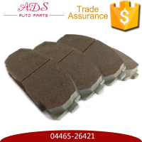 AKOK front atv disc ceramic brake pad for Granse 04465-26421