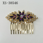 Sparkle rhinestone Hair combs colored diamond hair accessories