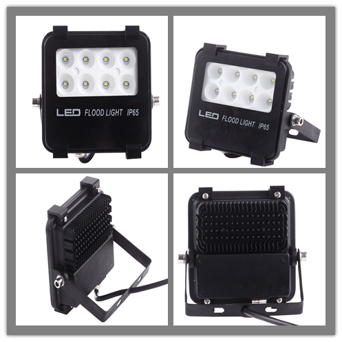 Narrow Beam Angle Outdoor Spotlight 10w Ip66 Led Flood Light
