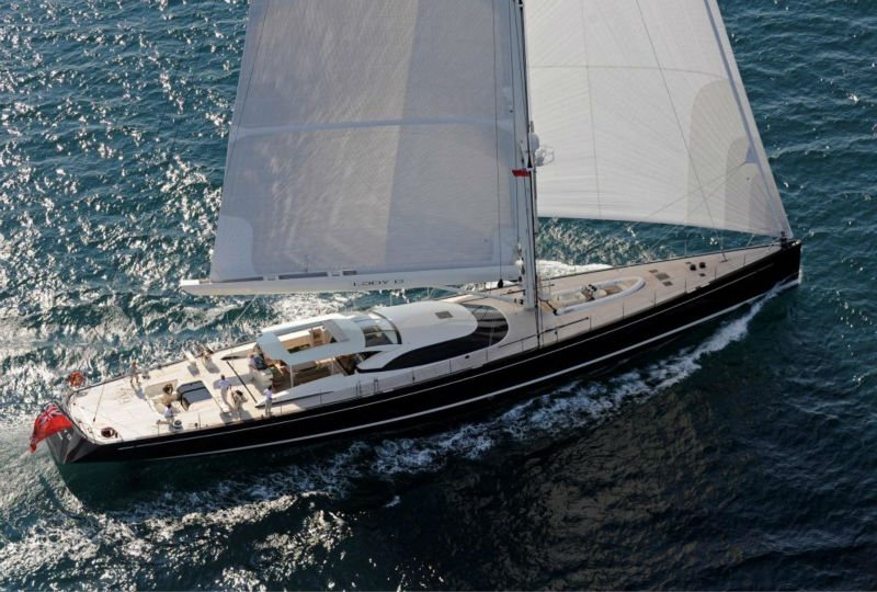 30 feet sailing yacht