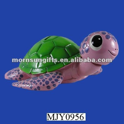 SEA TURTLE 3inches Coin BOBBLEHEAD BANK