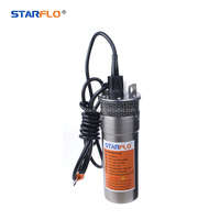 STARFLO SF1280-30 mini high pressure high flow 4 inch borehole solar water pump for agriculture