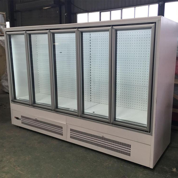 freezer and refrigerator chest freezer for supermarket, outdoor ice storage bin freeze sliding glass door display cabinet