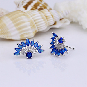 guangxi foxy fashion stud earring jewellery in spain with sample and free shipping