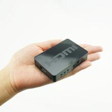 Beautiful Gitf New 3×1 HDMI Splitter 3 Port Hub Box Auto Switch 3 In 1 Out Switcher 3D 1080p HD 1.4 Free Shipping Jan22