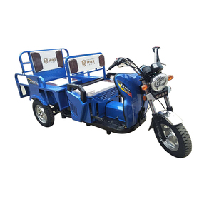 China Newest Easy Control Three Wheels Customized Passenger Tricycle 150 CC Gasoline Engine Passenger And Cargo Tricycle