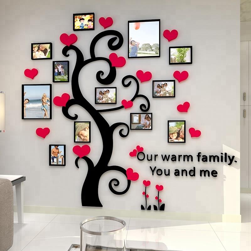 Diy Home Decor Black Acrylic Photo