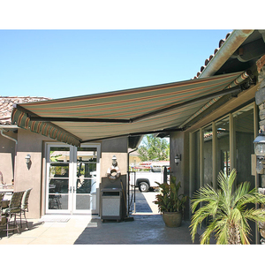NEW DESIGN HIGH QUALITY FULL CASSETTE RETRACTABLE AWNING WITH CERTIFICATE