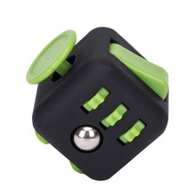 2017 Multi functions 6 side button toys burden fidget cube for global.