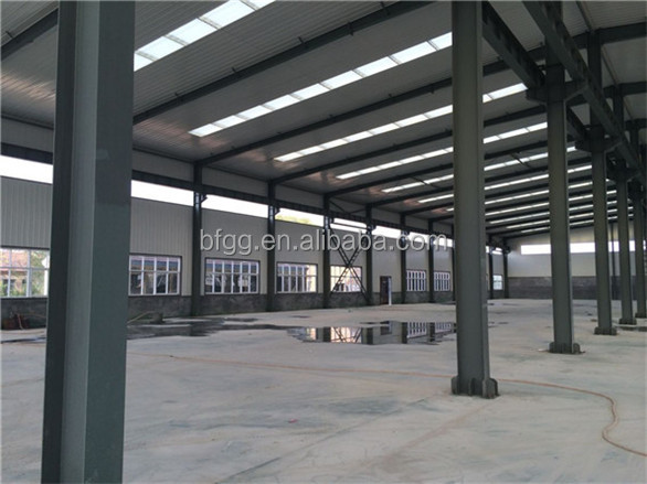 2014 low cost version vivid prefabricated auto design layout steel structure fabrication games factory building workshop