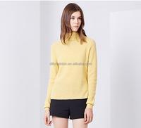 Winter Wool high neck knitting sweater patterns for women