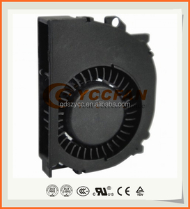 ROHS CE UL low noise dc mini fan blower Sleeve or NMB Dual ball bearing 51*40*10mm centrifugal blower fan