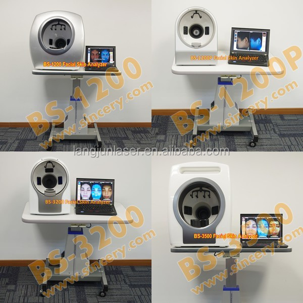 Magic Mirror 3D Facial Skin Analyzer With Camera Beauty Salon Equipment