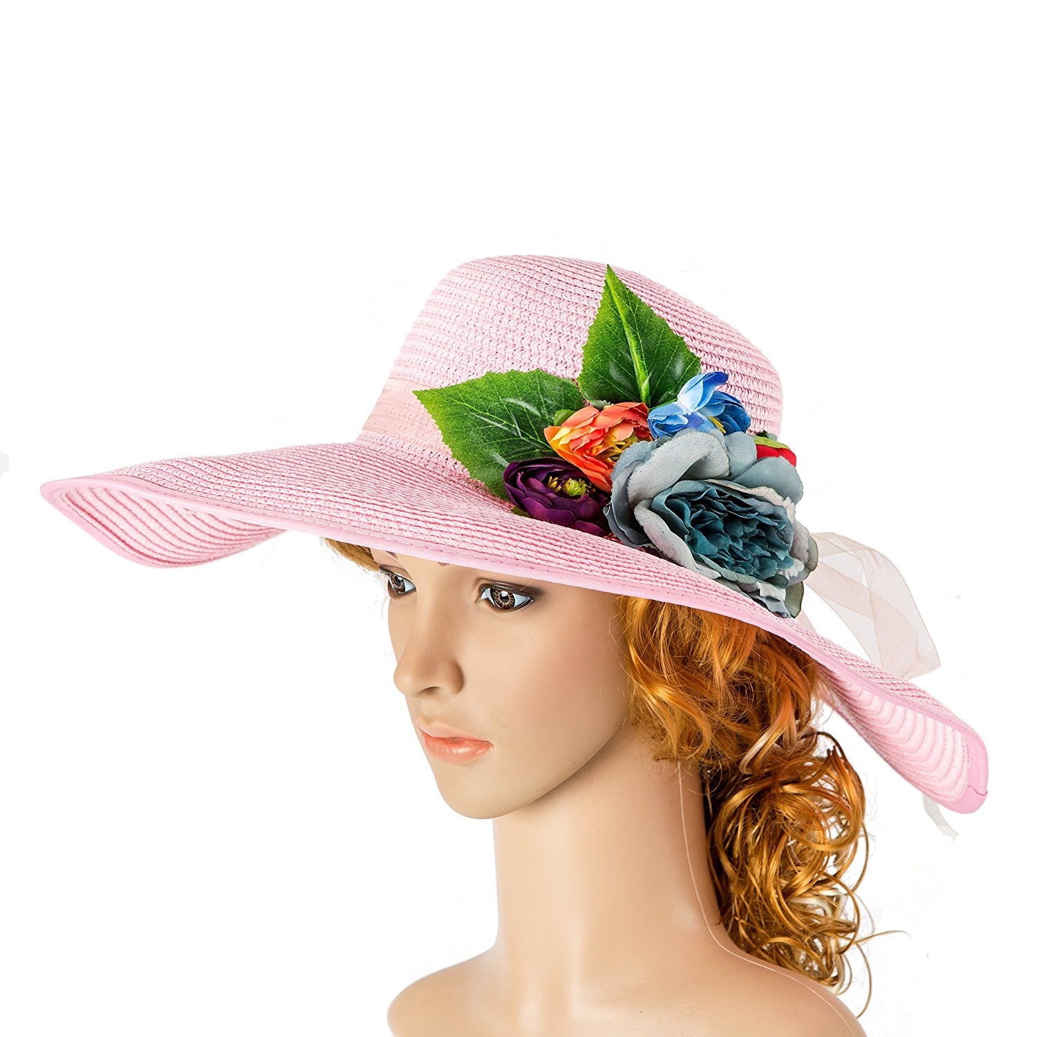 d45bd94e75496 Get Quotations · Pink Striped Hat