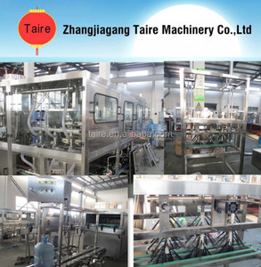 zhangjiagang Taire 18.9L Automatic Barreled Water Filling Line In Production Machines