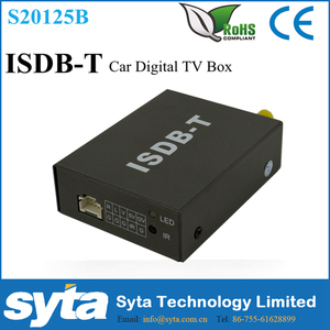 SYTA Mini ISDB Mobile Digital Car TV Box High Speed 180KM/H Strong Signal TV Receiver Antenna AV RCA Input/Output MPEG-4/2S2015B