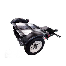 Samll Single-rail Folding Motorcycle Trailer For Sale