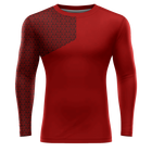 youth dri fit compression running shirt