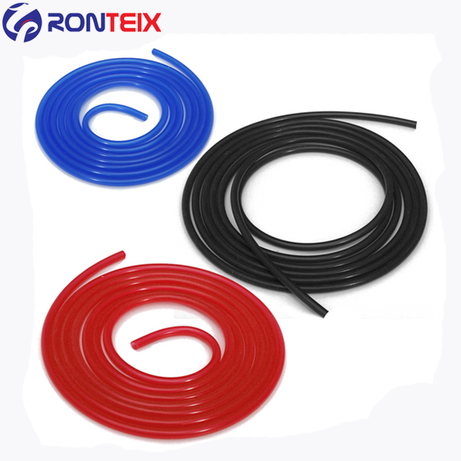 """Red 1//4/"""" ID Verocious High Performance Silicone Heater Hose 1 Ply"""