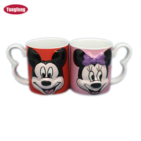 best choice 3d mug ceramic produced by Disney approved factory