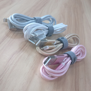 hot sale nylon braided colorful mobile phone 8pin usb cord for iPhone usb cable pigtail