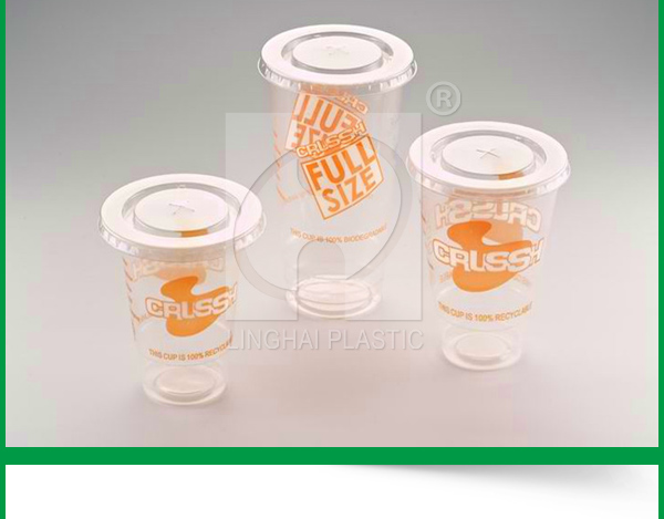 Manufactures Food Grade PP Transparent Disposable Plastic Cup For Drinking