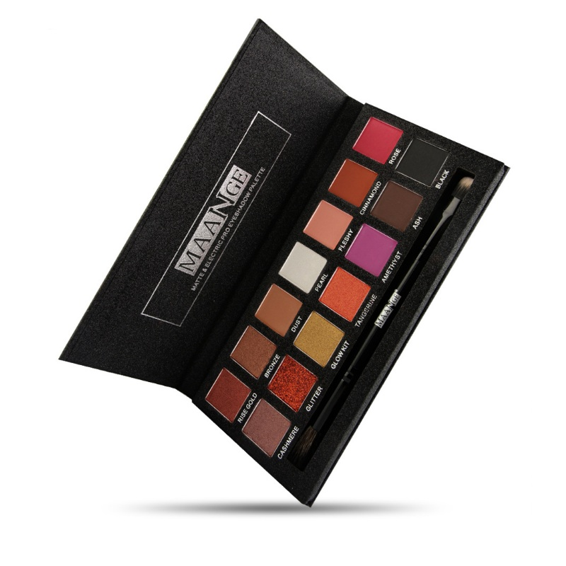 Private Label Make Up Cosmetica geen merk groothandel make Pressed Matte Eyeshadow Palette