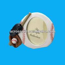 Novetly ceramic picture frames with baseball design