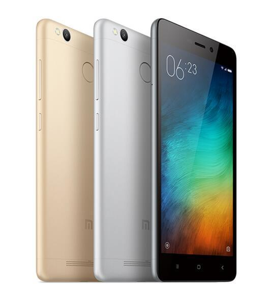 Fingerprint ID Snapdragon 430 4G LTE Octa Core 13MP Camera Xiaomi Redmi 3S 32GB Mobile Phone