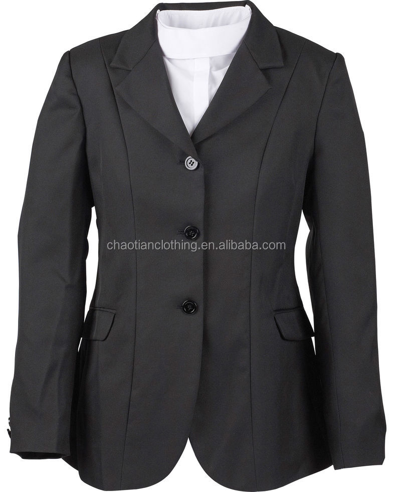 OEM type high quality customize logo women Equestrian coat jacket