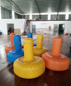2016 Inflatable water floating screw playground for children games toys, water park equipment price
