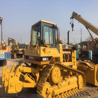 Low Price Used CAT D6M bulldozer with blade and ripper, used CAT D6M XL dozer for sale
