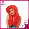 Funny carnival costumes sexy part anywhere wig red human hair wig
