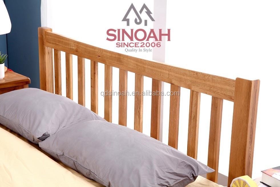 Eiken meubelen moderne slaapkamer set dubbele houten bed bedden product id 60147849699 dutch - Houten bed ...