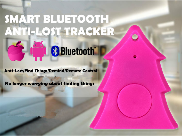 Low Energy Anti Lost Alarm Security Tag Key Finder OEM Long Range Bluetooth Child Tracker