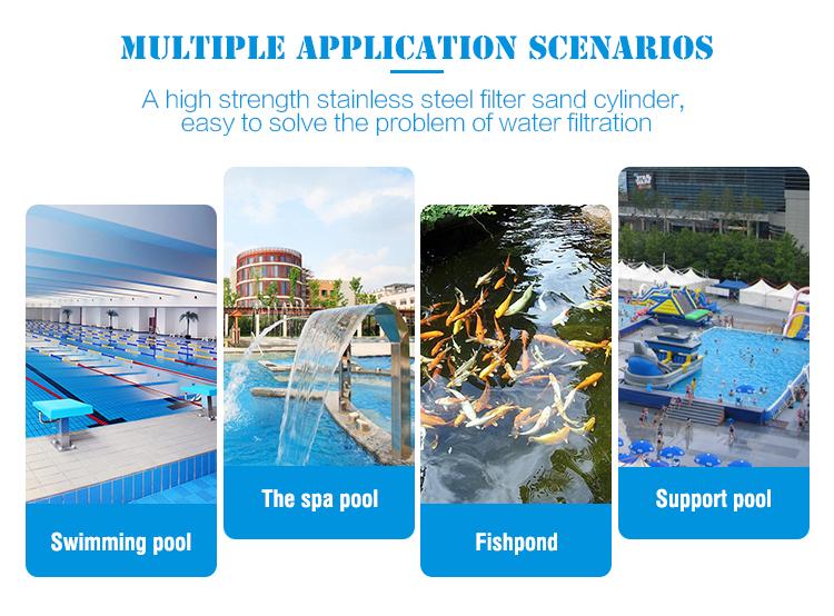 Guangzhou Produttore Professionale Commercio All'ingrosso Piscina di Trattamento Delle Acque A Buon Mercato Nuoto Piscina Pompe