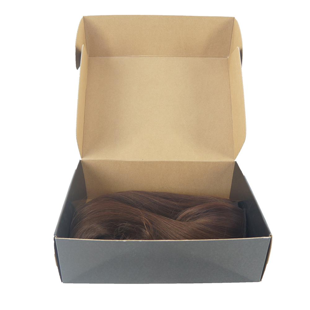 Custom Human Hair Weave Extension Bundles Packaging Box
