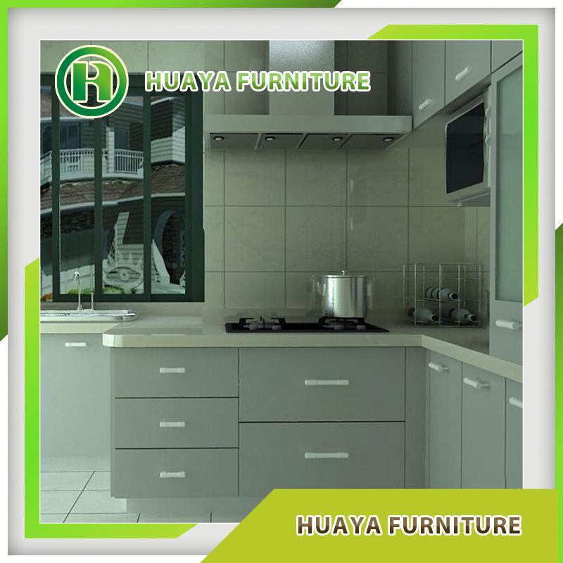 Kitchen Cabinets Price List: Design Moderno Porta De Armário Da Cozinha Do Pvc Preço