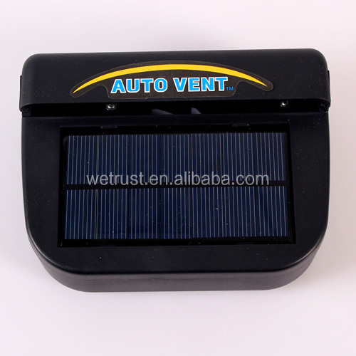 1W Solar Power Auto Cool Fan Air Vent
