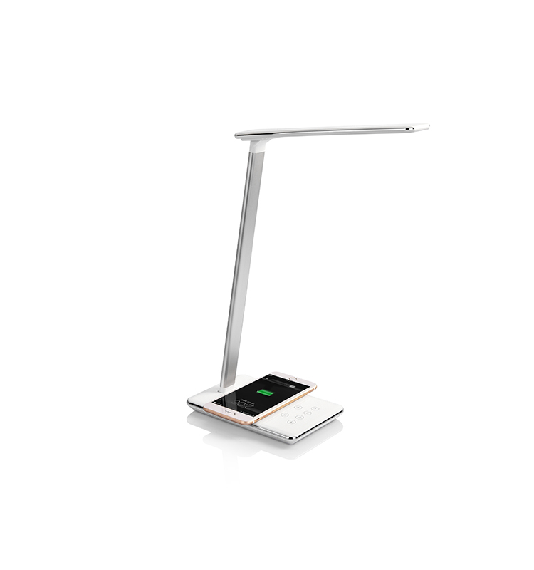 Shenzhen Led Bedside Table Lamp with Wireless Charger Touch Sensor Reading Lamp